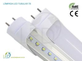 LED tubular é muito mais econômico que as lâmpadas fluorescentes.