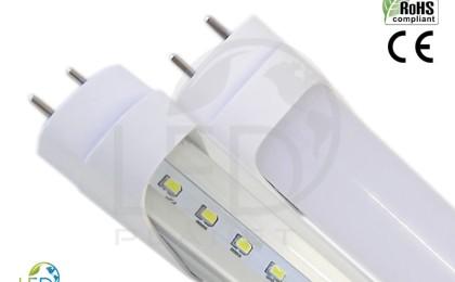 Lâmpada LED tubular é muito mais econômico que as lâmpadas fluorescentes.