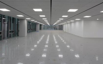 Aplicação do Painel de LED em garagem.