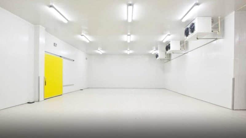 Iluminação de LED para Câmaras Frias