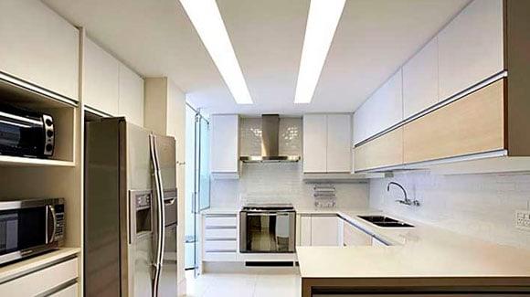 Aplicação LED Tubular 20W em Residências