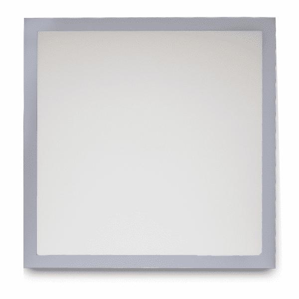 Frente do Painel de LED 48W 62X62cm de Embutir