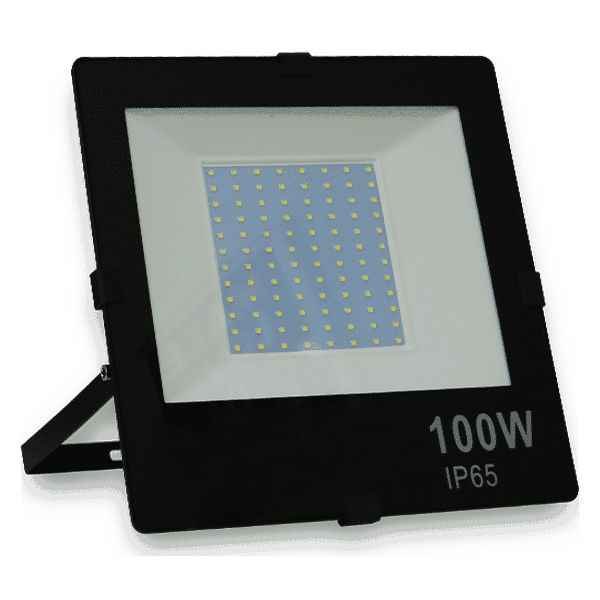 Lateral do Refletor de LED 100W