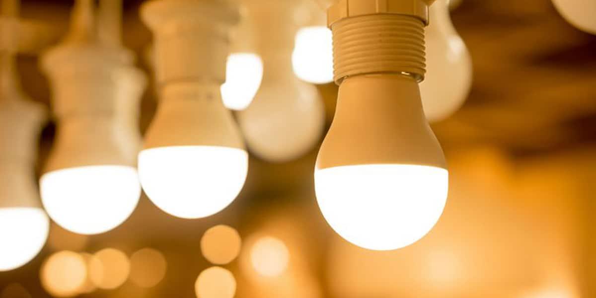 Lâmpadas de LED em Iluminação